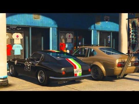 """GTA 5 ONLINE Cross Country RoadTrip """"NEW"""" Grotti GT500"""