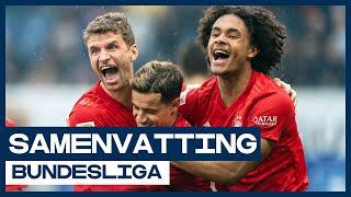 Goal Zirkzee ondergesneeuwd door spreekkoren Bayern-fans