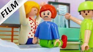 Playmobil Film deutsch   JULIANS KOPF VERDREHT - Muss er operiert werden? Kinderfilm Familie Vogel