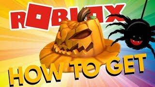 "HOW TO GET THE ""PUMPKIN FEDORA"" IN ROBLOX - ROBLOX HALLOWEEN 2018 (Event)"