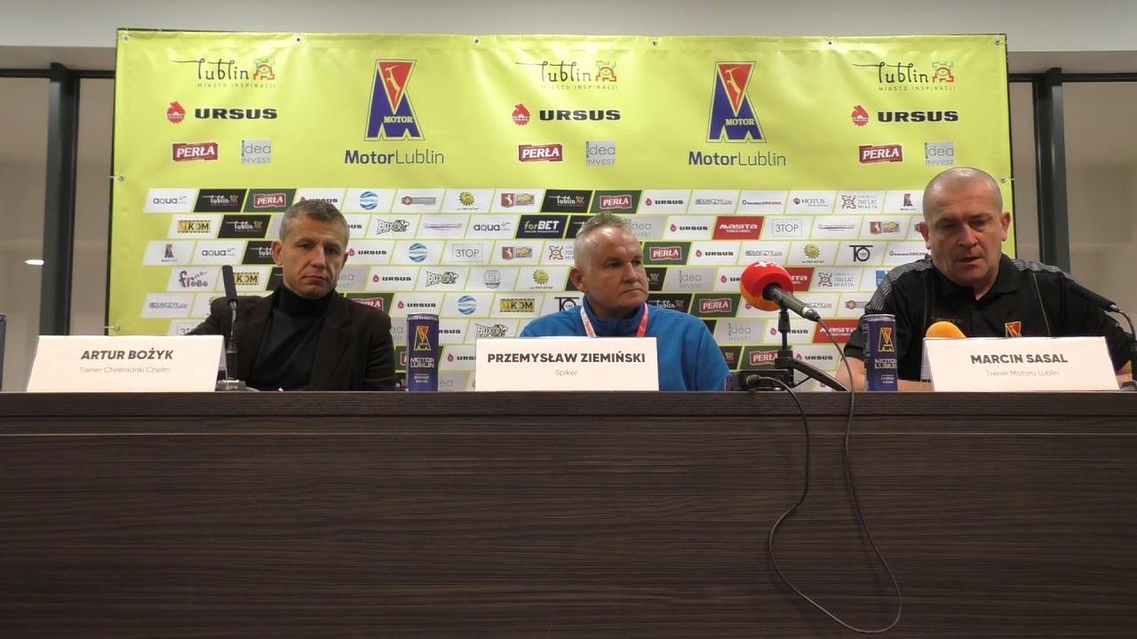 Motor Lublin – CHEŁMIANKA Chełm 1:0(0:0) konferencja prasowa