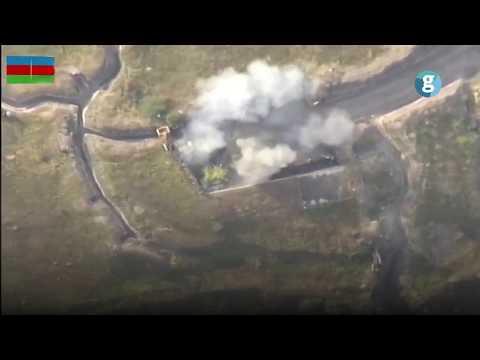 Азербайджанская армия уничтожила военные объекты и бронетехнику Армении