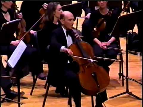 Dvorak Cello Concerto - Jules Eskin Boston Civic Symphony and birtay surprise at the end