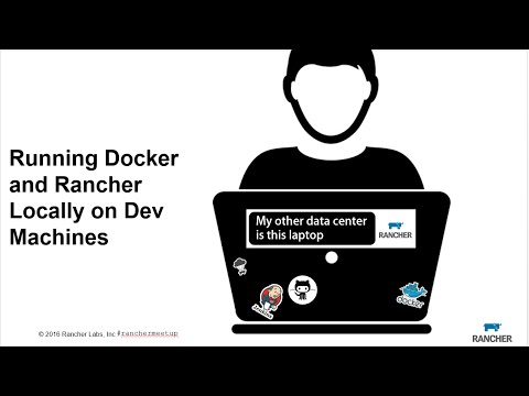 Running Docker and Rancher Locally on Dev Machines - May 2016 Online Meetup