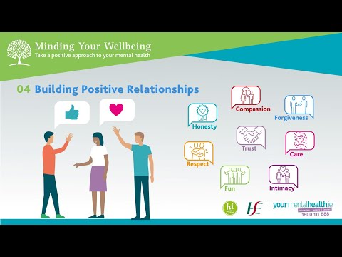 Minding Your Wellbeing Session 4: Building Positive Relationships