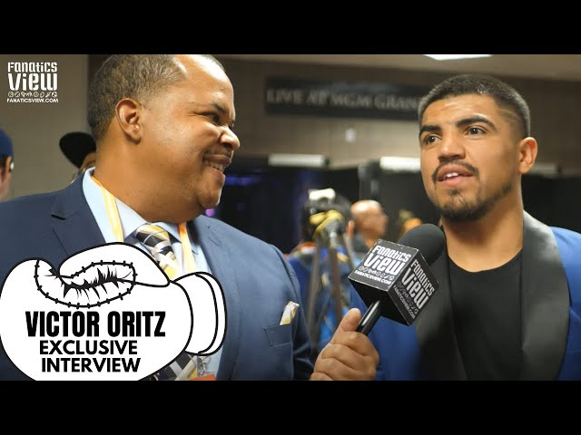 Victor Ortiz reaction to Manny Pacquiao Beating Keith Thurman: I HAD IT UNANIMOUS FOR MANNY