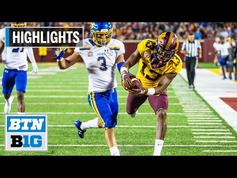 highlights:-big-night-for-bateman-in-gopher-win-|-minnesota-vs.-south-dakota-state-|-august-29,-2019