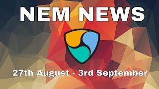 NEM news: ICO Bankera, COMSA, Dimcoin, LuxTag, Meetups