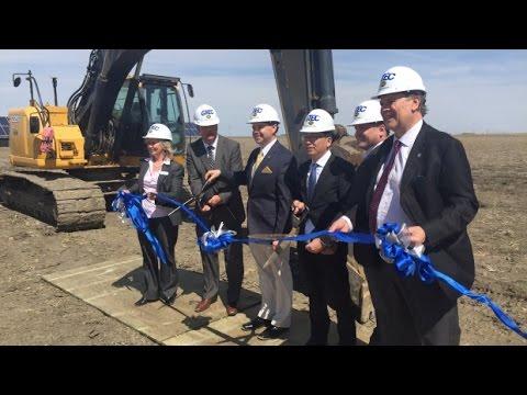 Sask. Developer's $45M Project Officially Breaks Ground At Global Transportation Hub