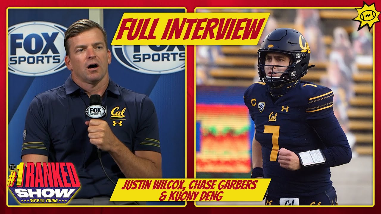 Chase Garbers, Justin Wilcox & Kuony Deng talk Cal football, 2021 prep   INTERVIEW   PAC12 Media Day
