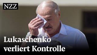 Weissrussland: So reagiert Lukaschenko auf die Massenproteste | NZZ