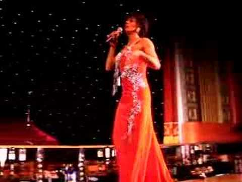Shirley Bassey Impersonator at Funny Girls