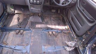 Honda CR-V RD1 и ржавчина. Как снять пластик и вскрыть пол