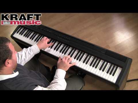 Kraft Music  Yamaha P105 Demo with Adam Berzowski