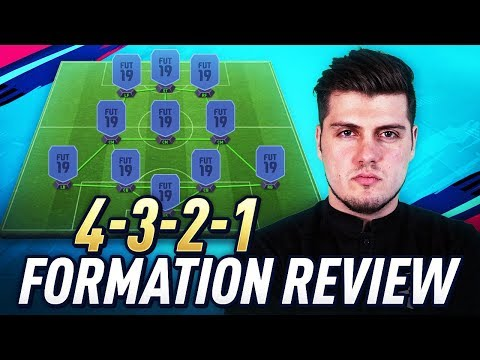 BEST QUICK ATTACKING FORMATION IN FIFA 19 ULTIMATE TEAM - 4321 GUIDE