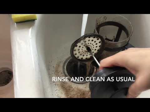 Genius Hack How To Clean French Press Coffee Maker