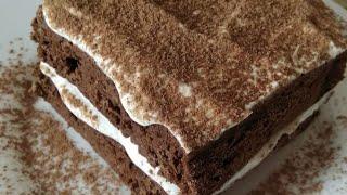 Быстрый шоколадный десерт за 7 минут