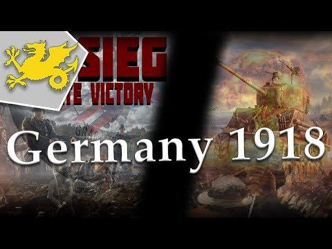 HOI4 Endsieg Mod 1918 Germany - It's Broken