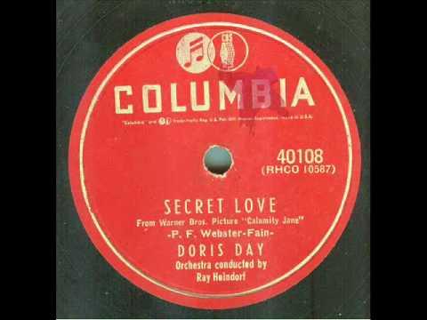 Doris Day - Secret Love (original 78 rpm)