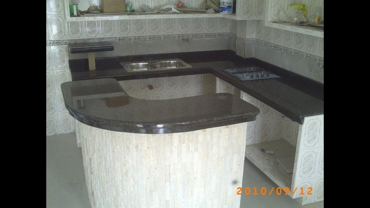 marmoles y granitos medina topes de cocina  YouTube