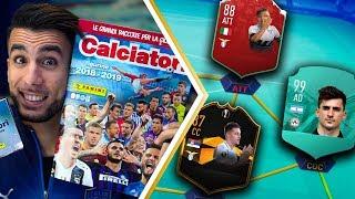 SUPER BUSTINE! PUSSETTO PRO PLAYER?! | APERTURA BUSTINE CALCIATORI PANINI 2018 2019 su FIFA 19 EP.4