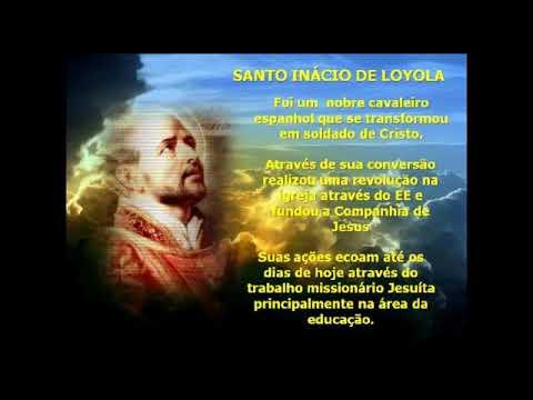 Oração De Santo Inácio De Loyola Youtube