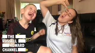 Loving Sister Learnt Sign Language to Help her Brother Communicate | The Russell Howard Hour
