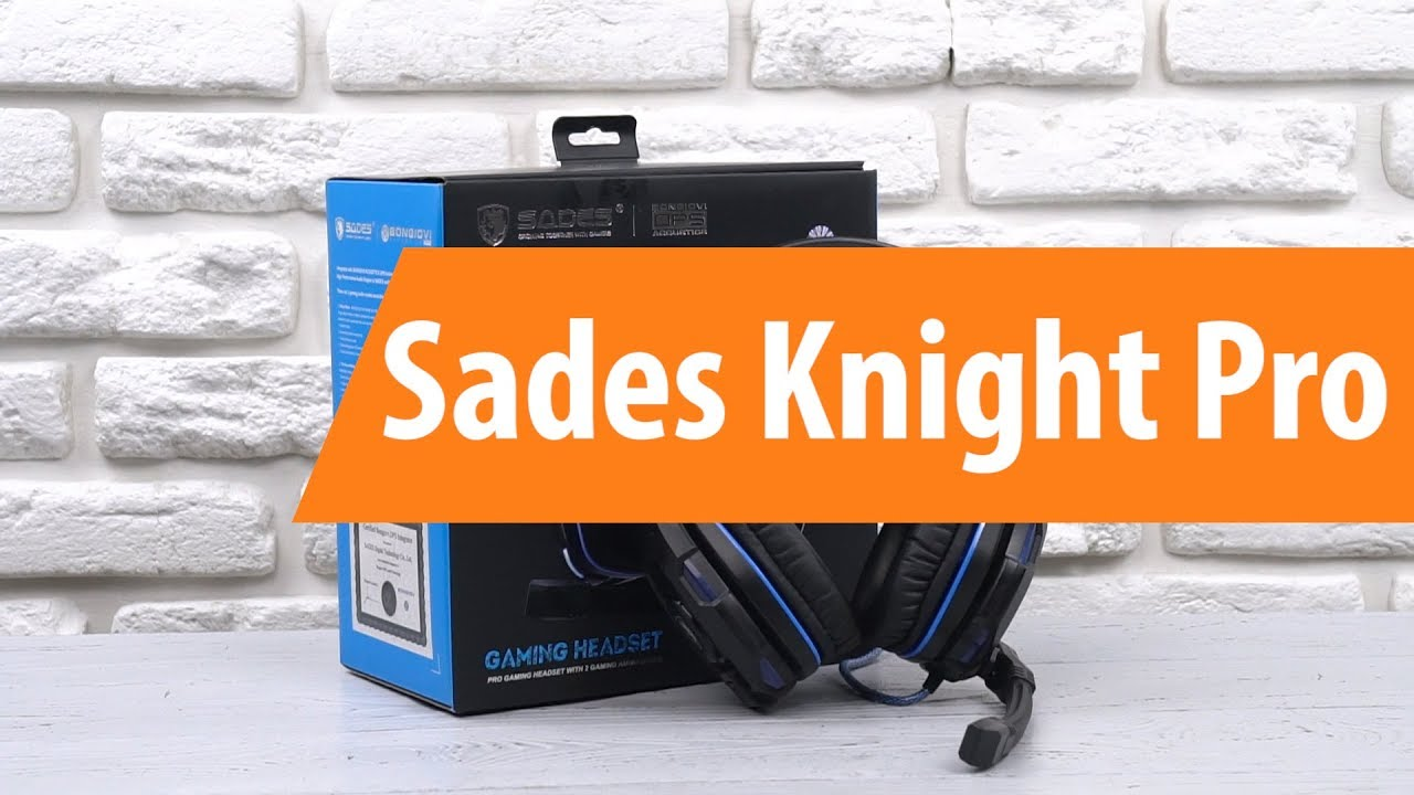Review Of The Sades Knight Plus Wired Gaming Headset Audio Pro Bongiovi 71 Unboxing