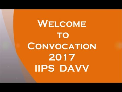 IIPS DAVV convocation 2017