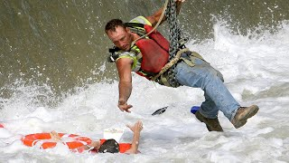 7 AMAZING RESCUES CAUGHT ON CAMERA - Real life heroes