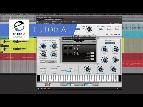 using uad auto tune realtime on a natural vocal -