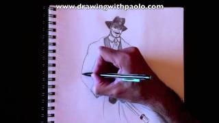 Drawing a Gangster with Paolo Morrone