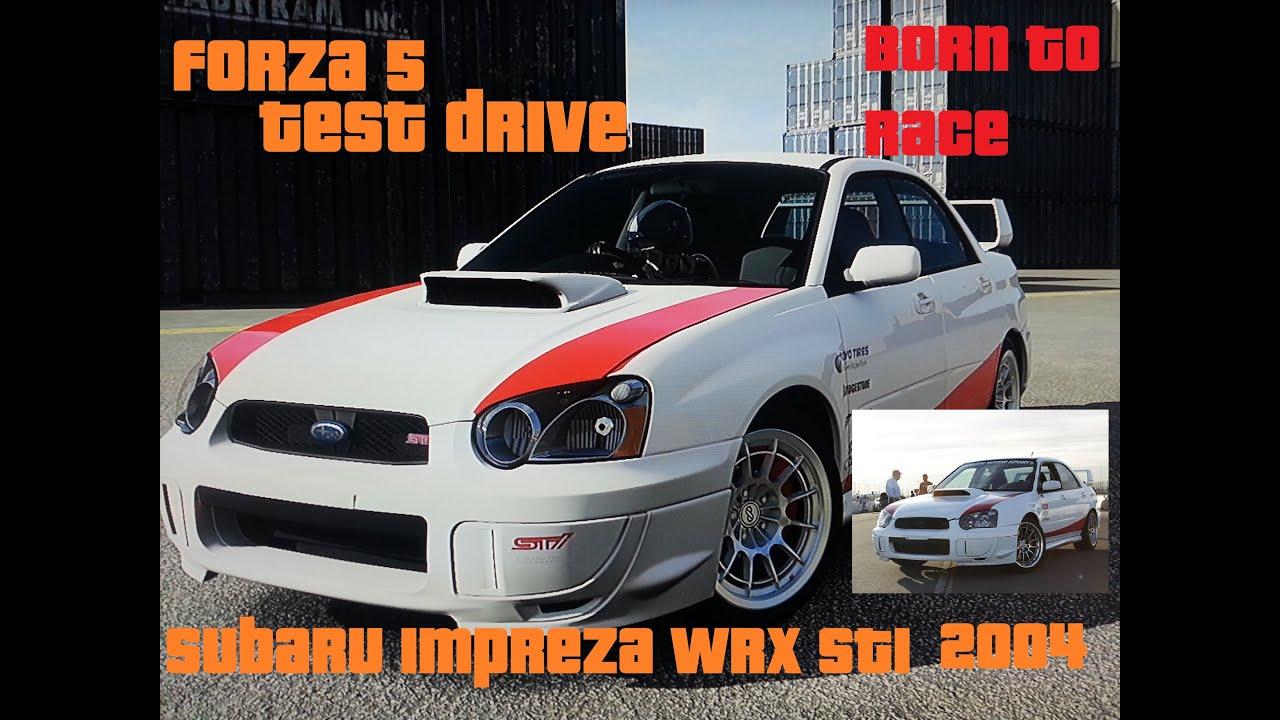 Forza Subaru Impreza Wrx Sti Youtube