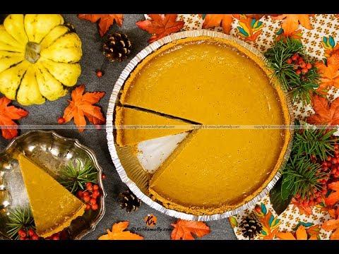 Pumpkin Pie With Condensed Milk | Kothamally