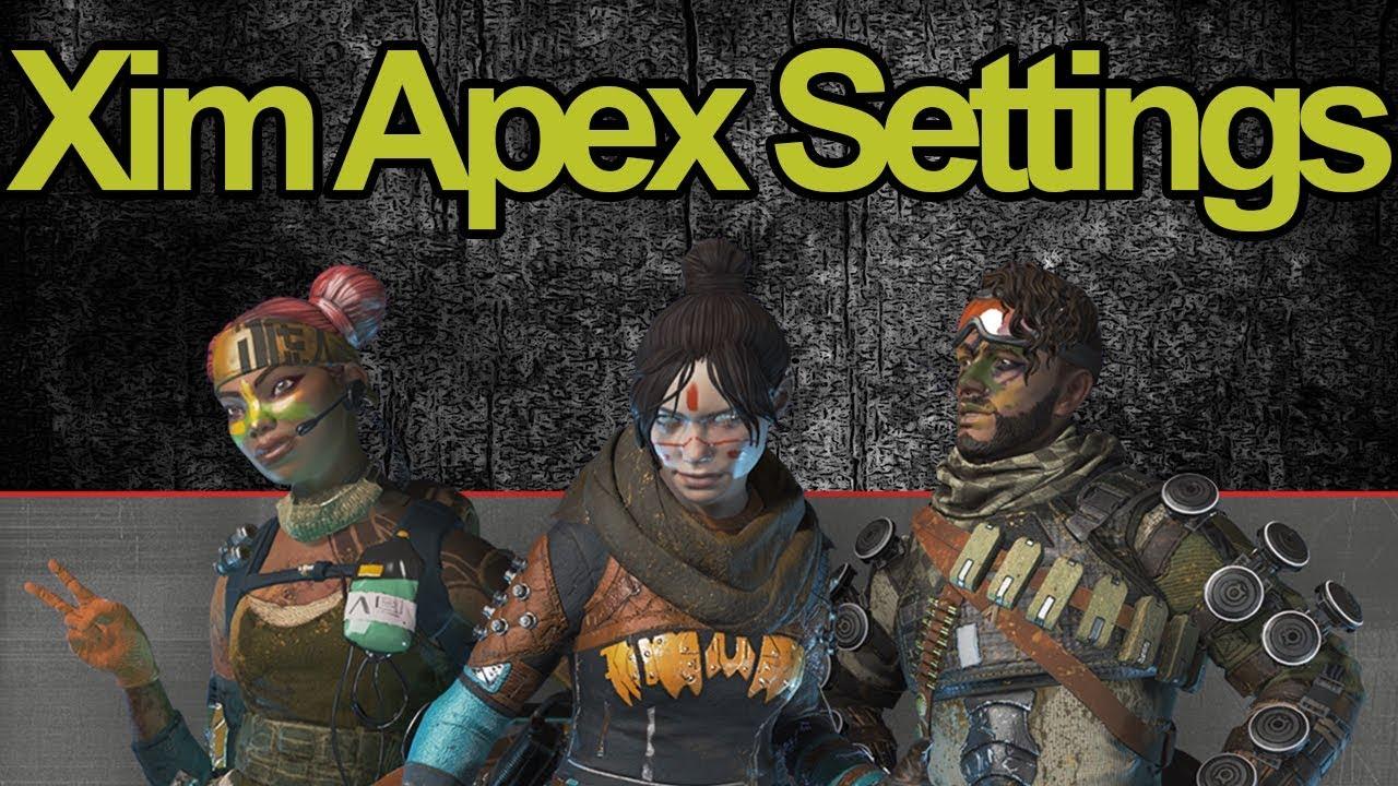 Unstoppable Apex Legends Xim Apex Settings (FEELS LIKE NATIVE)