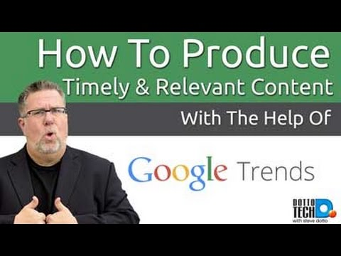 How To Use Google Trends to Find Hot Content Topics