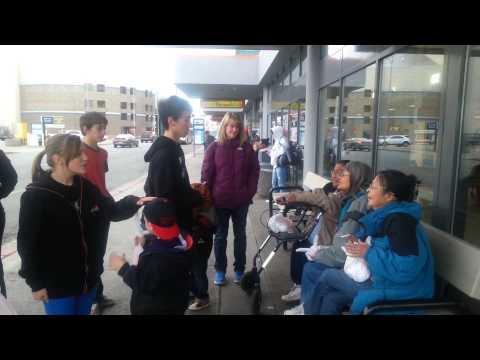 Downtown Anchorage, Alaska Bus Terminal