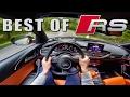Audi RS3 vs RS4 vs RS6 vs RS7 POV by AutoTopNL