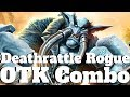 Deathrattle Rogue is Still a Thing! Huge OTK Combo! [Hearthstone Game of the Day]