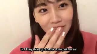 Reupload : Mako just won the best reaction fo Yuunaa's kiss