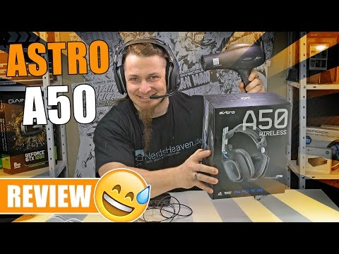 ASTRO A50 - Das 300€ Gaming Headset? [Review, German, Deutsc