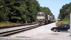 Railfanning NS Simpson Yard & CSX, Jacksonville, FL, 10/18/14