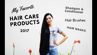 My Favorite Hair Care Products 2017- Shampoo, Conditioner, Hair Brushes, Etc Beautyklove