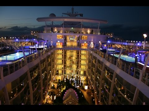 Oasis of the Seas - Worlds largest cruise ship in 6mins - March 2013