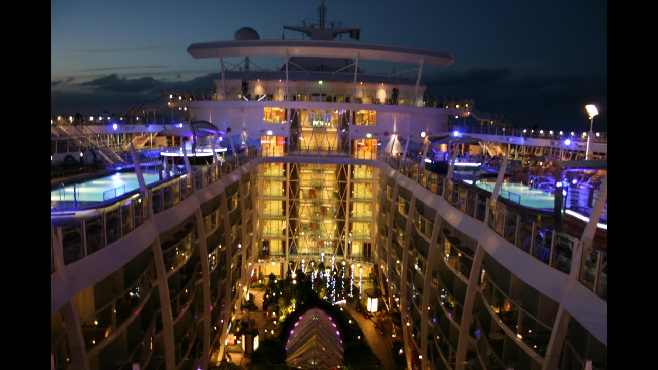 Oasis Of The Seas Worlds Largest Cruise Ship In Mins March - The oasis cruise ship