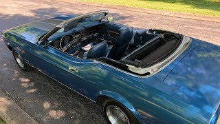 Test Drive Mustang Convertible $13,900 Maple Motors