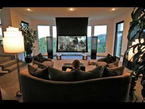 Superb Living Room Theater Design Ideas