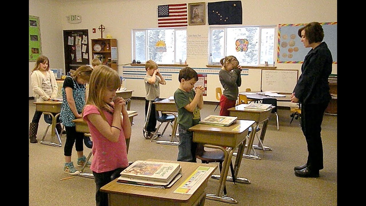 prayer in the public schools Ron wagner went to wftv in orlando after the seminole county public schools investigated whether students in his son's 10th-grade world history class were required to recite an islamic.