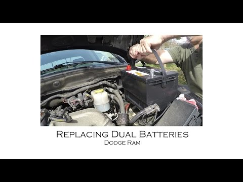 How to Replace Dodge Diesel Truck Battery Batteries 2500 3500