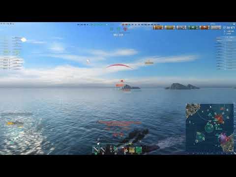 World Of Warships WoWS   Тащу на эсминцах   Удалой имба !
